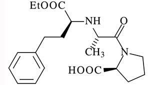 молекула эналаприла