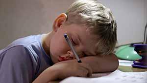 ребенок утомлен
