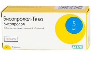 таблетки Бисопролол Тева