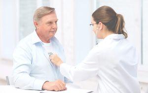пациент на приеме у врача