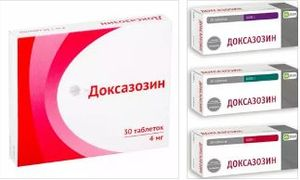 таблетки Доксазозин