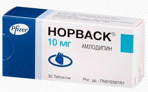 таблетки Норваск