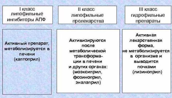 классификация ИАПФ
