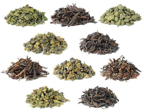виды китайского зеленого чая