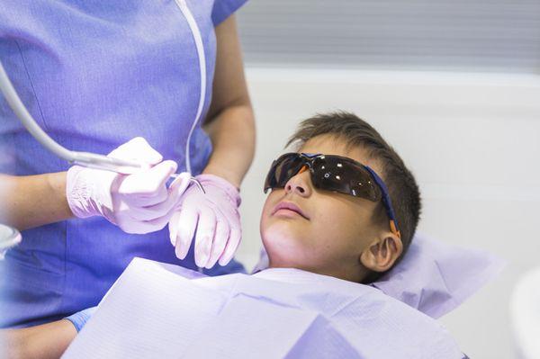 лечение зубов ребенку