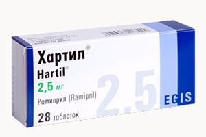 таблетки Хартил
