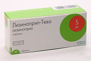таблетки Лизиноприл Тева