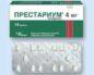 таблетки Престариум