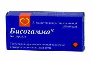 таблетки Бисогамма