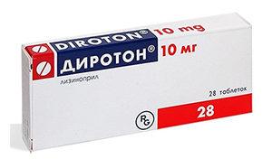 таблетки Диротон