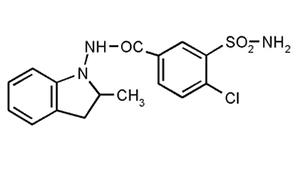 формула индапамида