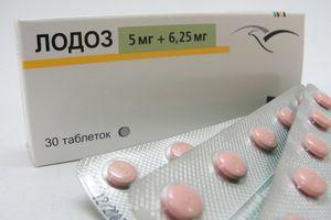 таблетки Лодоз