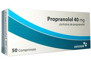 таблетки Пропранолол