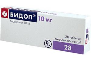 таблетки бидоп