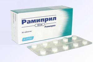 таблетки Рамиприл