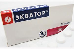 таблетки Экватор
