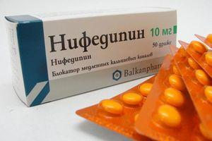 таблетки Нифедипин