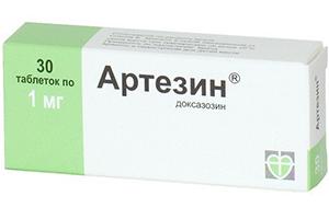 таблетки Артезин