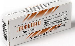 таблетки Дифенин