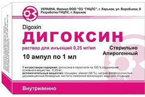 ампулы Дигоксин