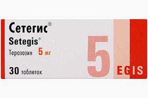 таблетки Сетегис