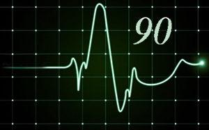 пульс 90