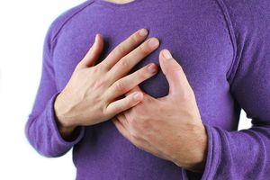 онемение в области сердца
